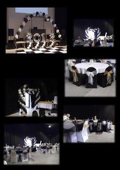 black and white prom theme | Goole High School Prom 2012 at Goole High School. Black and white ...