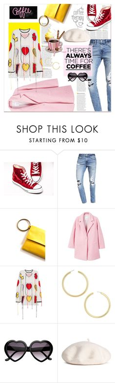 """""""Goodmorning..."""" by nihal-imsk-cam ❤ liked on Polyvore featuring Abercrombie & Fitch, MANGO, Philosophy di Lorenzo Serafini, BaubleBar and CoffeeDate"""