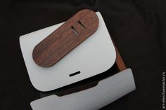 "Мастер-класс: сумка изо дерева да кожи ""Белый шоколад"" - Ярмарка Мастеров - ручная работа, handmade"
