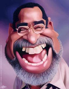 Caricatura Puertorriqueña on Behance Funny Caricatures, Celebrity Caricatures, Cartoon Faces, Cartoon Art, Puerto Rican Music, Types Of Ballroom Dances, Musica Salsa, Puerto Rico History, Salsa Dancing