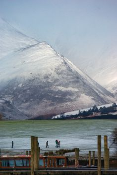 Keswick - Cumbria, my Mum was stationed here during the war she said it was freezing, it looks it!