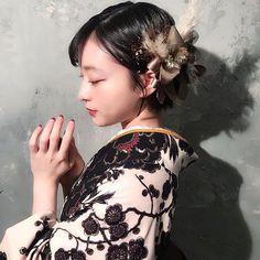 Japanese Costume, Japanese Kimono, Japanese Wedding, Hair Arrange, Japanese Hairstyle, Yukata, Kawaii Fashion, Kimono Fashion, Hair Looks
