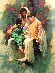 Jesus and children dans immagini sacre 7c4fd9bbdd6f0273c46963152016f293