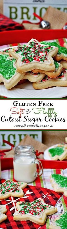 Forget all other sugar cookies because this Gluten Free Soft and Fluffy Cutout Sugar Cookies recipe is all you will ever need. These soft, yet sturdy, vanilla flavored sugar cookies will excite the kid in you.