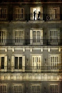 Beautiful Paris Balconies
