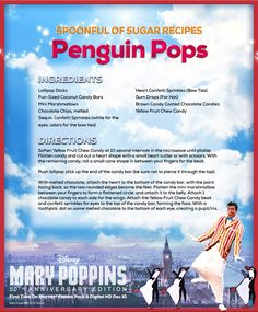 It's a jolly holiday with these penguin pops.