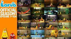 [Official] 3 Hours - FULL - LARVA-- Season 1 - Episode 1 ~ 104 (Final) - YouTube