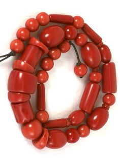 Monies Chunky Faux Coral Necklace