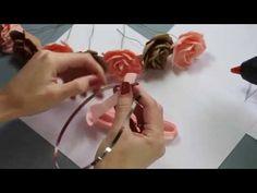 Мастер класс по креплениям для цветов из фоамирана