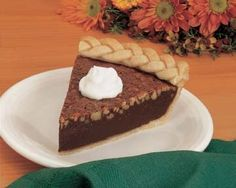 Fudgy Mocha Nut Pie Recipe