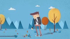 10 Seconds Animation - Nº1 on Vimeo | Motion Graphics | Animation | Flat | Animated | After Effects |