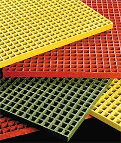 Fiberglass grating is an anti-slippery product made from processed raisin material. It is a great option for floor covering due to its non-slippery nature.
