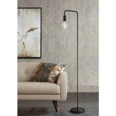 Bronze Floor Lamp, Black Floor Lamp, Black Bedroom Furniture, Bedroom Lamps, Contemporary Floor Lamps, Modern Floor Lamps, Industrial Floor Lamps, Industrial Design, Farmhouse Floor Lamps