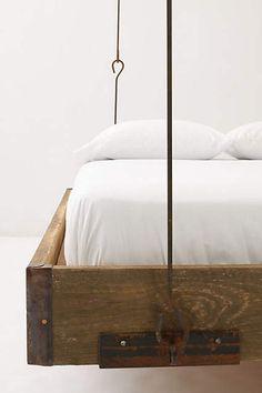 Barnwood Hanging Bed - anthropologie.com