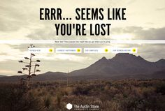 404 Page   Web Design   Inspiration  -------------  Wil je minder 404's? of gewoon een betere website? Neem dan eens vrijblijvend contact op met Budeco http://budeco.nl/contact