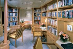 Seabourn Legend Library
