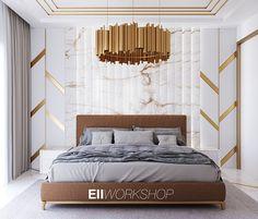 Luxury Bedroom Design, Master Bedroom Interior, Bedroom Closet Design, Bedroom Furniture Design, Luxury Interior, Modern Bedroom, Bedroom Decor, Bedroom Ideas, Bed Headboard Design