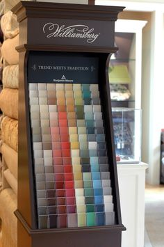 ... colors Colonial Williamsburg recently launched with Benjamin Moore