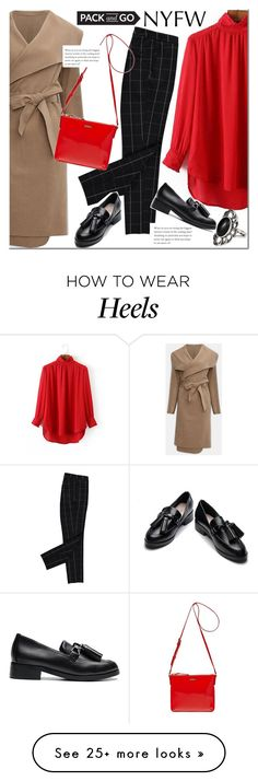 """""""Yoins pack to NYFW"""" by mada-malureanu on Polyvore featuring Kate Spade, NYFW, yoins, yoinscollection and loveyoins"""
