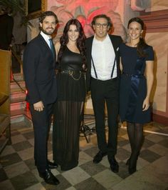 """Prince Carl Philip and Sofia Hellqvist attended the concert """"Christmas in Vasastan"""" in Stockholm."""