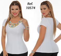 Womens Trendy Tops, Stylish Tops, You Look Beautiful, Twin Girls, Everyday Dresses, White Beads, Waffle Knit, Girls Image, Shapewear