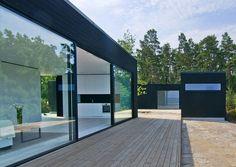 Villa Skaret , image © Chahrour Huhtilainen Arkitektur + Design AB