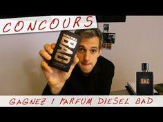 CONCOURS Je vous offre le dernier PARFUM DIESEL BAD - Vlog #12 - Monsieur GRrr - YouTube