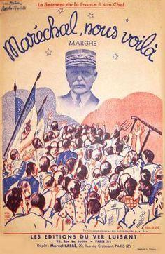 Propagande Pétain France Occupée