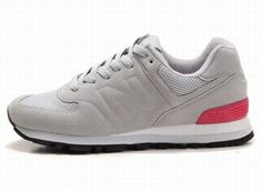 Joes New Balance 574 WS574GP Grey Pink Red Sonic Womens Shoes
