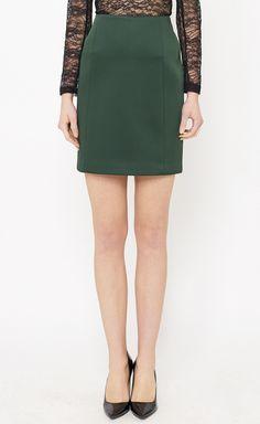nice green skirt