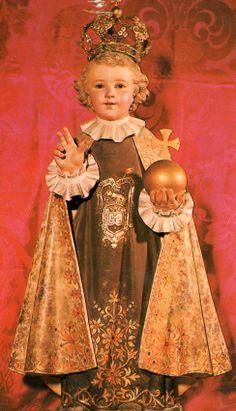 NIÑO JESÚS DE PRAGA, Padres Carmelitas Descalzos de Madrid, s. XX.