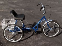 Trailmate Ez Roll Regal Recreational Trike,three wheel bicycle
