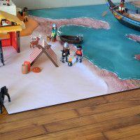 Carpeto : jouer nous fait grandir #Carpeto #Playmobil #playmat