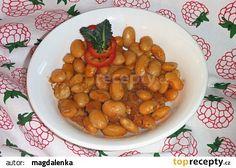 Gravče na tavče (balkánske zapečené fazole) recept - TopRecepty.cz Chana Masala, Ale, Ethnic Recipes, Food, Red Peppers, Ale Beer, Essen, Meals, Yemek