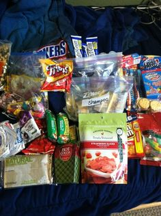 My friend who is in the military received this care package from an Elementary school class...He was so uplifted to receive it...I think this would be a great class or group project for any group who wants to do a volunteer or service project...You can find more info on how-to here http://www.anysoldier.com