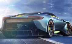 aston martin vulcan - concept design