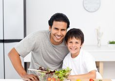 Dads Support Healthy Foods in Schools, Too Kitchen Images, School Lunch, Healthy Recipes, Healthy Foods, Designs To Draw, Cute Boys, Father, Dads, Stock Photos