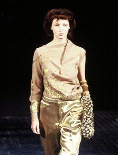 Yep. That's my wife. (She used to be a model)  #Fashion - Aziz Bekkaoui - Paris Show - Model Maaike Helmer
