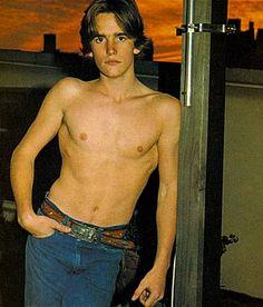 Matt shirtless