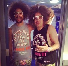 Redfoo and Jimmy Fallon