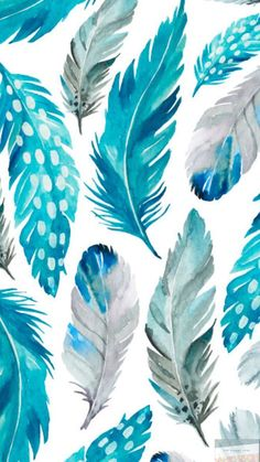 Cool Backgrounds Wallpapers, Iphone Background Wallpaper, Cute Wallpaper Backgrounds, Pretty Wallpapers, Aesthetic Wallpapers, Summer Wallpaper, Colorful Wallpaper, Images Murales, Feather Wallpaper