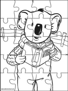 Printable jigsaw puzzles to cut out for kids Koala Brothers 31