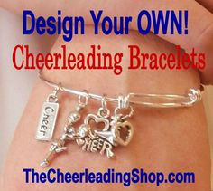 Are you looking for the perfect gift for your cheerleaders? Check out these gorgeous cheerleading bracelets that come GIFT READY in a drawstring pouch and inspirational Spirit Card. Check out all of the details at TheCheerleadingShop.com