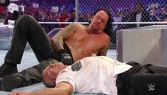 The Undertaker had a lot on the line at WrestleMania 32 and the stakes were high in his Hell in Cell match with Shane McMahon. Wrestlemania 32, Shane Mcmahon, Undertaker Wwe, Mark Williams, Wrestling News, Nikki Bella, Wwe News, Seth Rollins, Roman Reigns