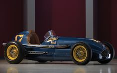 """1949 - Duane Carter's (#17) """"Belanger Motors"""" Special – Qualified: 5th, Speed (128.233 mph) Finished: 14th, Spun Turn 3, Lap 182 (Restored)"""