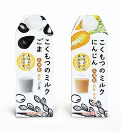 こくもつのミルク I think this is some kind of healthy drink #packaging is that a mussel I spy: ) PD