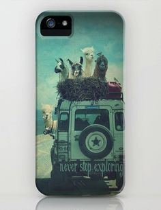 Never Stop Exploring iPhone Case