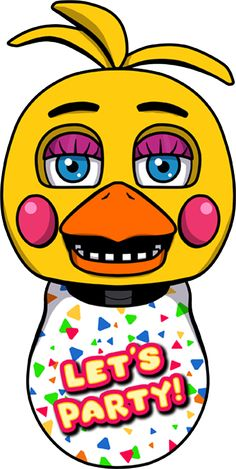 Toy Chica Head by kaizerin.deviantart.com on @DeviantArt ========================= #FNAF