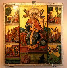 Icon of Saint Catherine of Alexandria - Saint Catherine's Monastery - Saint Catherine's Monastery, Monastery Icons, Byzantine Icons, Byzantine Art, Religious Icons, Religious Art, St Catherine Of Alexandria, Saint Katherine, Art Roman