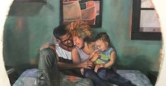 Artist Paints Interracial Couples Just Being, Together